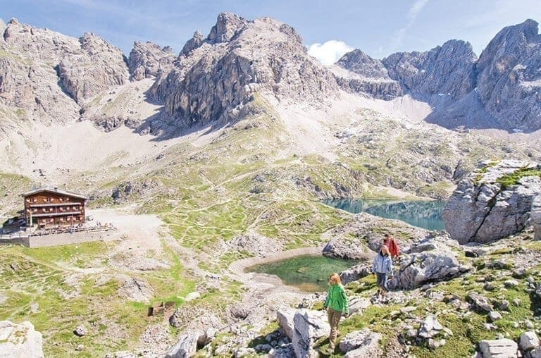 Karlsbaderhütte Osttirol Strasserwirt Sommer Berge Tirol