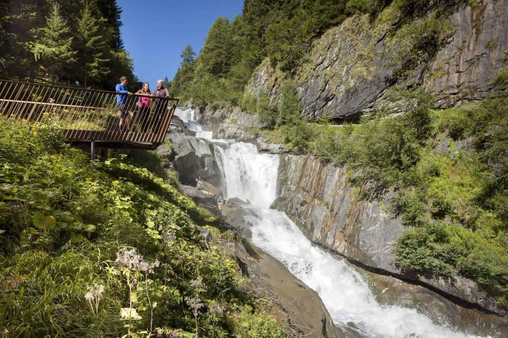 Osttirol Sommer Strasserwirt Umballfälle