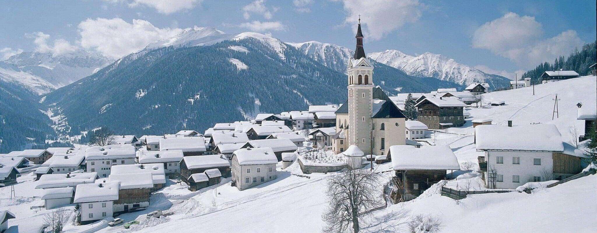 Obertilliach Winter Osttirol Strasserwirt