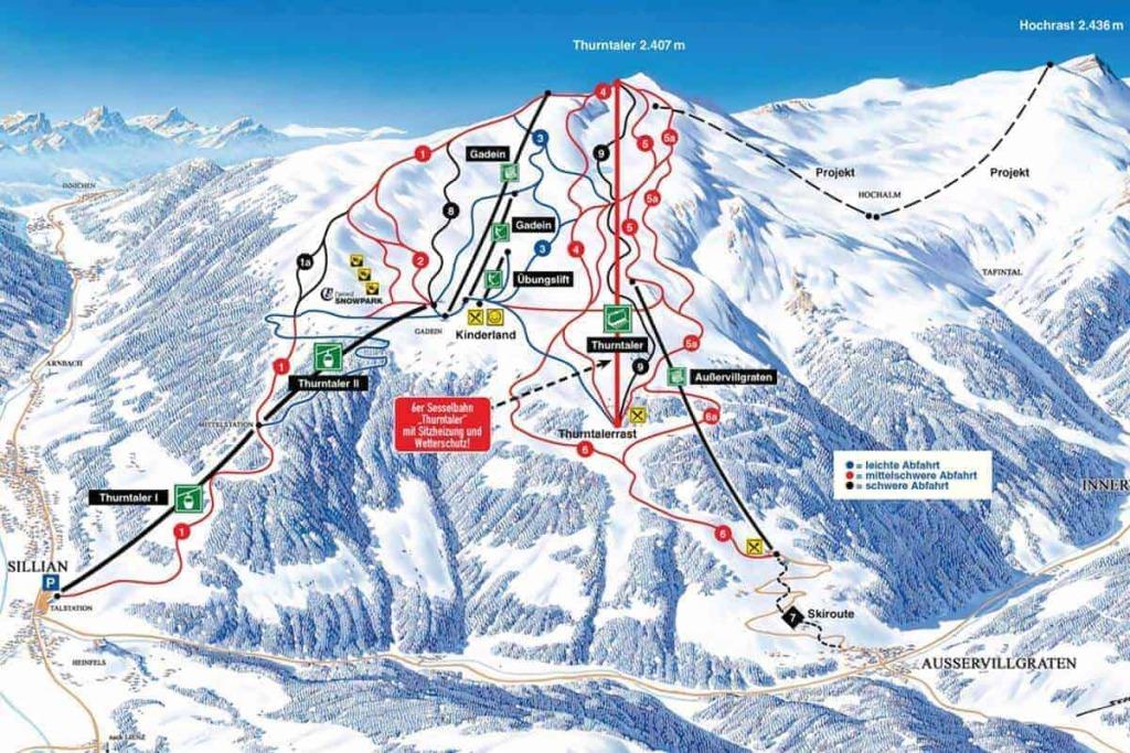 skigebiet pistenplan